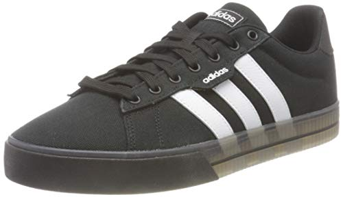 adidas Herren Daily 3.0 Sneaker, Core Black/Cloud White/Cloud White, 42 EU