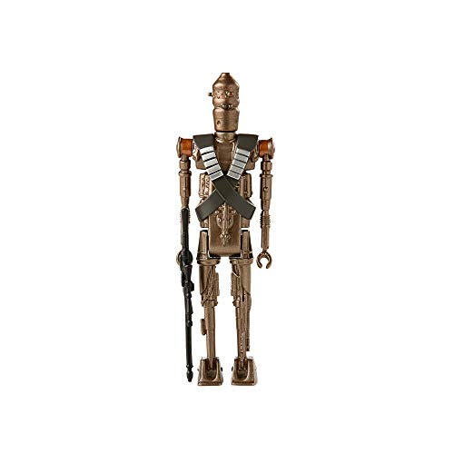 Star Wars Retro Collection IG-11 Toy 3.75-Inch-Scale The Mandalorian Collectible Action Figure with Accessories, Toys for Kids Ages 4 and Up