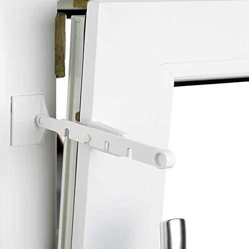 Dekologi Kipp Regler für Fenster ohne Bohren Weiß 1er Set
