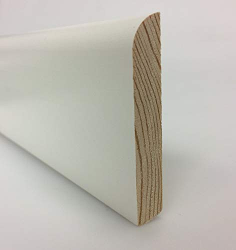 opiniones liston madera blanco calidad profesional para casa