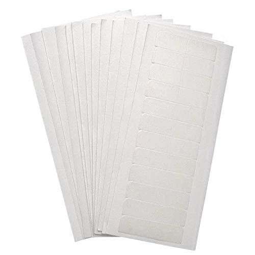 180 Stück Haarverlängerung klebeband tape extensions klebeband Starken Haar Klebestreifen für tape in klebestreifen, als Ersatz Wasserdicht und Ungefährlich haar klebestreifen, 4 x 0,8 cm (weiß)