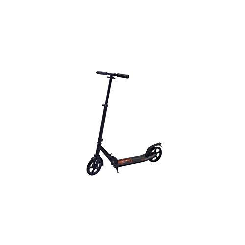 Bibee Start Tretroller für Erwachsene und Jugendliche, großes Rad mit Ständer, höhenverstellbarer Lenkstange und Reflektor auf Schutzblech.