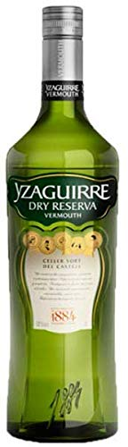 Yzaguirre Vermouth Dry Reserva - 3 botellas x 1000 ml - Total: 3000 ml