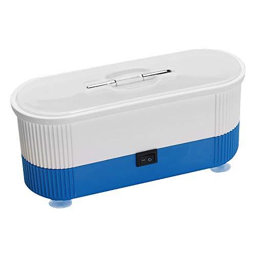 otutun Mini Ultraschallreiniger, Mini Ultraschall Reiniger Ultraschallreinigungsgerät für Zahnersatz Wasserdichte Uhren Schmuck Brillenreiniger (Blau)