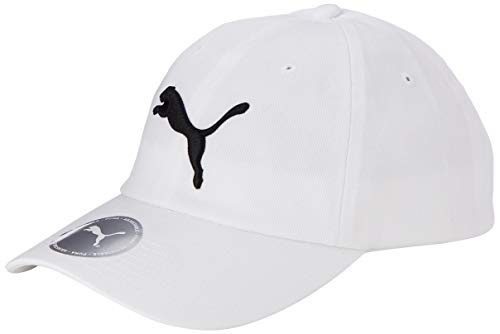 PUMA ESS Cap, white-Big Cat, ADULT