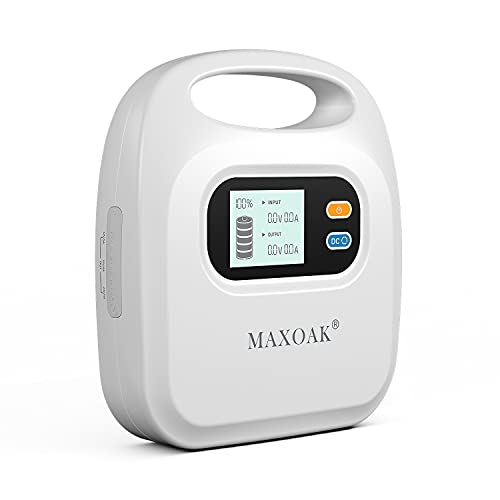 MAXOAK CPAP Battery Backup CPAP Power Bank Compatible...