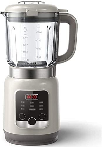 600 W, Smoothie voor shakes en smoothies, Smoothiemaker op aanrecht met glazen kan voor het fijnmalen van ijs en bevroren fruit