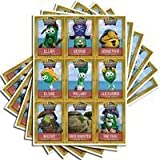 Veggie Tales: Pirates Who Don't Do Anything trading cards (9 cards x 20 sheets = 180 cards)