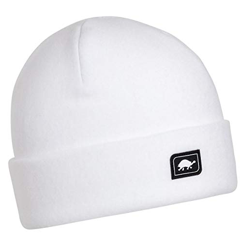 Turtle Fur Original Fleece The Hat Heavyweight Beanie Watch Cap, White