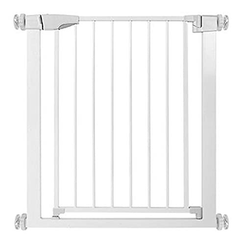 DyAn Stair Gates For Baby, Portable Pet Gate: Expands & Locks In Place With No Tools. NO Drilling Pressure Mounted. Fits 24'- 26.7' Wide