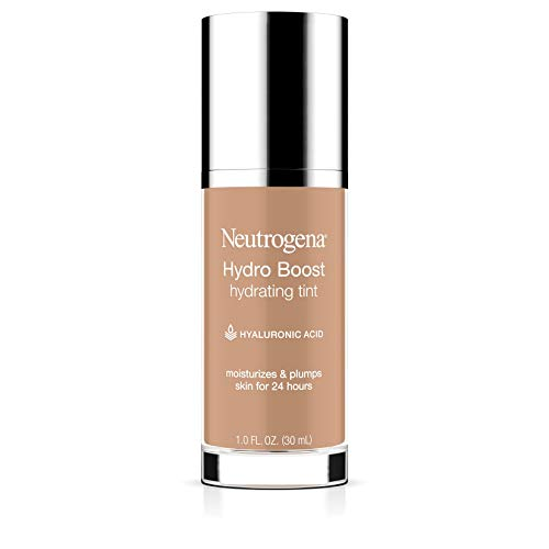 Neutrogena Hydro Boost Hydrating Tint with Hyaluronic Acid, Lightweight Water Gel Formula,...
