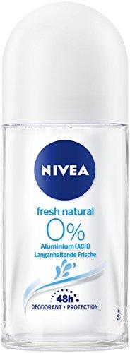 NIVEA Fresh Natural Deo Roll On im 6er Pack
