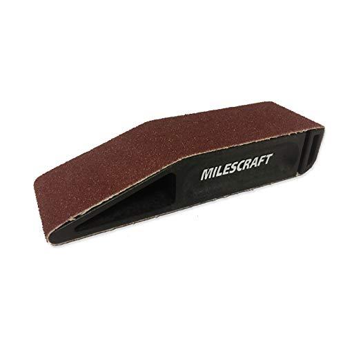 "Milescraft 1607 SandDevil1.5 Hand Sander with 1.5"" x 12"" Sandpaper Belt"