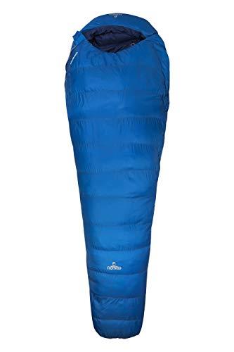 Nomad Unisex - Volwassenen SLPE45N3TS31795 Pegasus Mummy sleepingbag, Zipper Right, Blauw