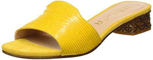 Unisa Damen DAVEPA_LI_KS Pantoletten, Gelb (Limone Limone), 38 EU