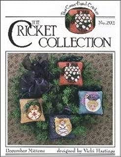 December Mittens (CC202) Cross Stitch Chart and Free Embellishment