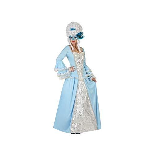 Costume da Dama barocca Turchese per Donna M / L