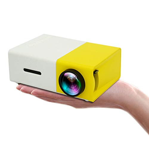 Draagbare mini projector 1080P LED home cinema bioscoop binnen/buiten filmprojector ondersteuning laptop smartphone smartphone HDMI input party geweldig cadeau