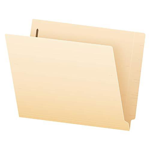 Pendaflex Manila End-Tab Fastener Folders, Letter Size, 2 Fasteners, Manila, Straight Cut, 50/BX (H10U13)