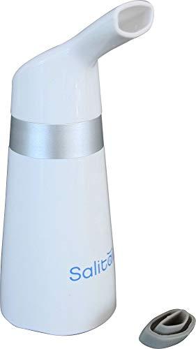 Unbekannt Inhalator mit Steinsalzkristallen weiß