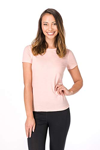 super. Natural W Base 175 Femme en Laine mérinos T-Shirt XS Rosa