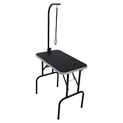Oypla 30' Heavy Duty Folding Dog Grooming Table Adjustable Portable