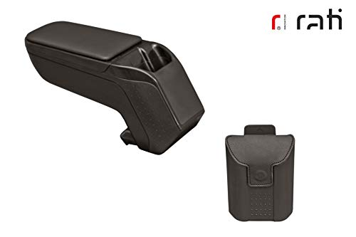 Rati Armster2 bracciolo centrale con vano portaoggetti I compatibile con OPEL CORSA D 2006-2014 [black]
