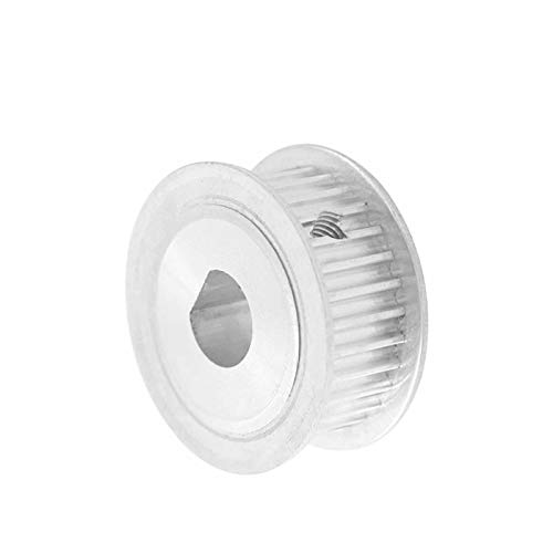 SANKUAI LT-3d, 1pc 3M 36T D Type Timing Belt Pulley 6 * 5/8 * 7/10 * 9mm Bore 11/16mm Width D Type Tooth Belt Pulley For Laser Machine (Color : 10 and 9mm, Size : 16mm)