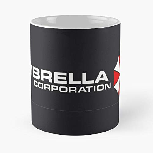 Sweetworldstore Umbrella Game Corporation Evil Resident Best 11 oz Kaffeebecher - Nespresso Tassen Kaffee Motive