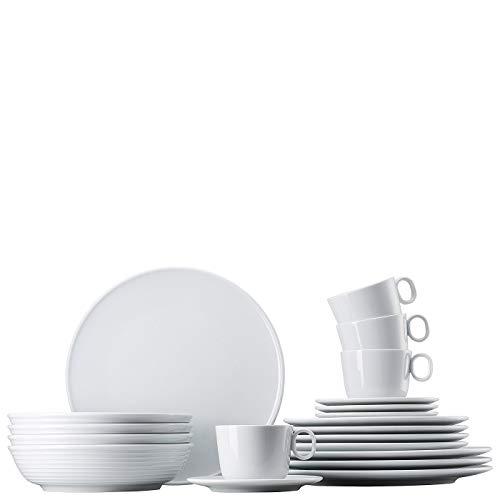 Rosenthal - Thomas - ONO - Kaffeeservice - Kombi-Set - 20-teilig - Porzellan - weiß