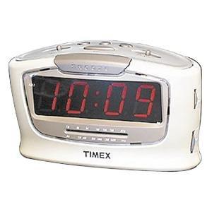 TIMEX T254W Jumbo Dislplay Alarm Clock with Radio