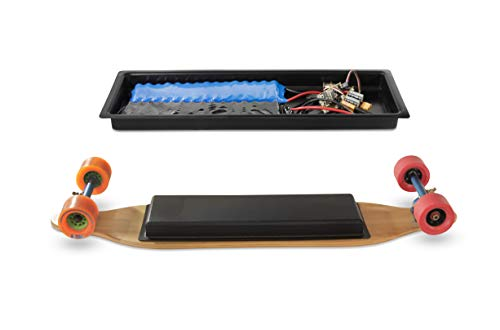 DIYE Electric Skateboard Battery & Electronics Customizable & Scratch-Proof Battery Enclosure
