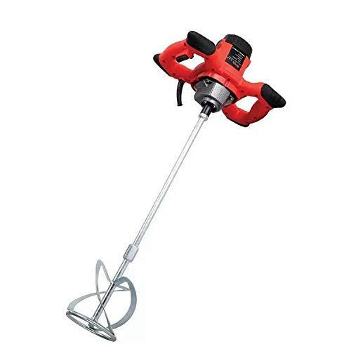 Mortel Mixer, Paddle Mixer Boor, variabele snelheid mengen Tool, AC 220V 1500W Handheld elektrische mixer, Ergonomische Bouw, for het mengen van Gips/Verf/mortel/lijm/Adhesive 8bayfa