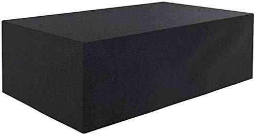 Fundas para muebles para exterior cuadrado 308x138x89cm Fundas para muebles de jardín Impermeable Rectangular 420D Tela Oxford resistente al desgarro Fundas para muebles de patio Cubierta para juegos
