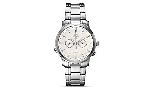 BMW Silber weiß – 42 mm Herren Armbanduhr 80262365445