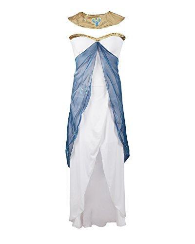 Emmas Wardrobe Traje de fantasía de Cleopatra Halloween tamaño EU 42
