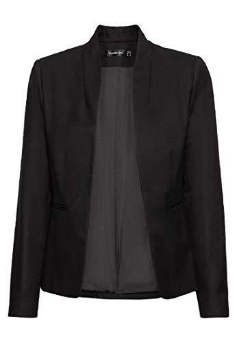 HALLHUBER Blazerjacke mit Paspeltaschen leicht tailliert schwarz, 38