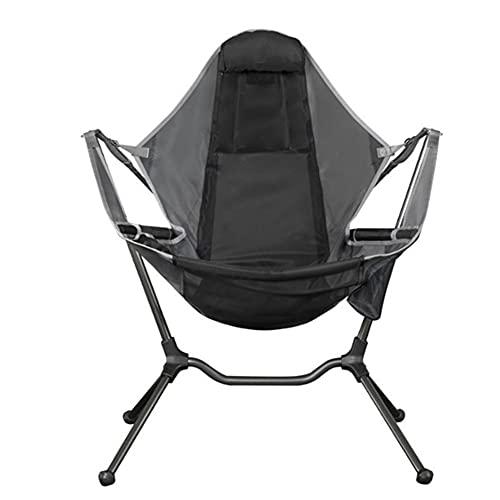 Xingying Silla de camping columpio de lujo, relajación, balancín, cómoda para reclinar al aire libre