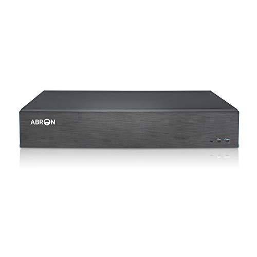 Abronis NVR 32 Canales Ultra HD 4K, 32CH Grabadores de vigilancia de Red, 8MP Grabadora Vigilancia IP, CCTV NVR, ONVIF P2P Acceso Remoto, Admite cámaras IP de hasta 32x4K(sin Disco Duro)