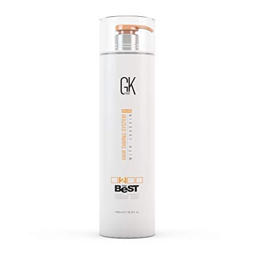Global Keratin GKhair El mejor tratamiento profesional de alisado y alisado de queratina (1000 ml/...