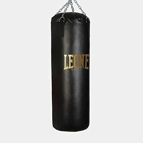 LEONE 1947 - Sacco Da Boxe Nero Home Training 30 Kg, Unisex – Adulto