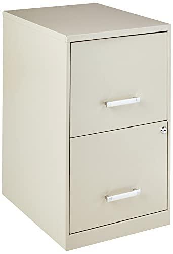 Lorell 18 Deep 2-Drawer File Cabinet