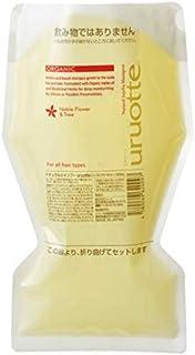 ナチュラルシャンプーuruotte エコパック お得な詰め替え用(ノーブルフラワー&ツリー)
