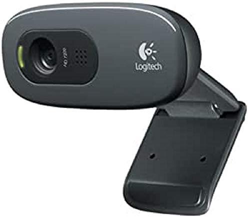 Logitech C270 - Webcam HD 720p, Color Negro