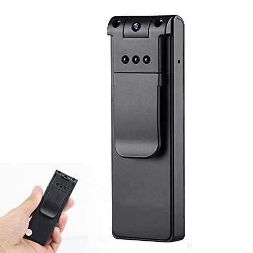 CHENPENG Mini cámara de Cuerpo HD 1080P, cámara Oculta, Mini cámara portátil para niñera fácil de Usar para reuniones de conferencias en el hogar y la Oficina