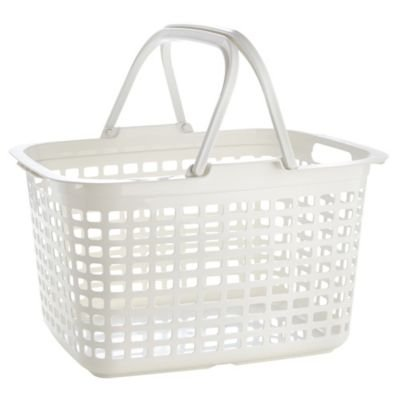 Lakeland Laundry Tote Basket with Handles, 25 Litre