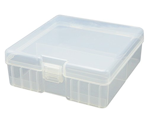 Whizzotech AA Battery Storage Case Battery Holder Organizer Box BL11 (Holds 100 AA)