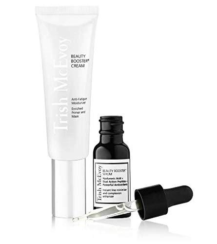 Trish McEvoy Beauty Booster Serum and Cream Duo Includes Beauty Booster Serum 0.5 Ounce plus Beauty Booster Anti-Fatigue Cream 1.8 Ounce