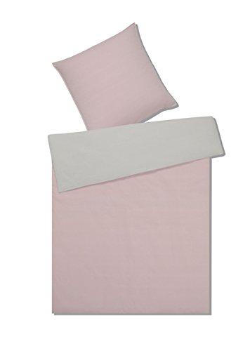 elegante Fine Crepe Bettwäsche Treat 7050-001-155x200-40x80 blush