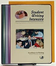 Student Writing Intensive B Additional Student Materials